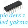 16F84A LED YAKMA