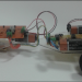 Çizgi İzlerken Engelden Kurtulan Robot