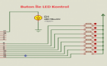 Buton İle Led Kontrolü CSC C dilinde