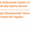 LCD-Buton İle Sayı Sayma