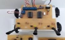 1 Gövde 3 Sensör =4 Robot