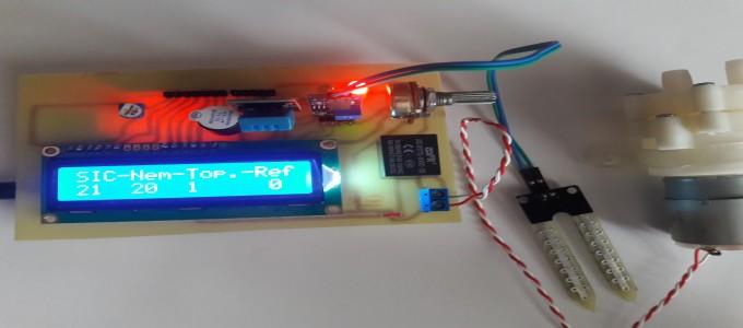 Toprak Sulama Projesi #Arduino