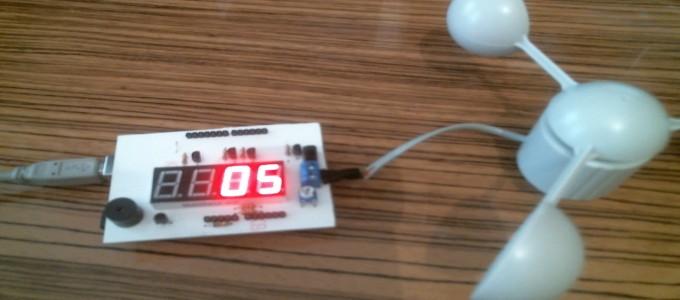 Arduino Rüzgar Sensörü #Anemometre