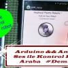 Arduino Ses ile Kontrol Edilen Araba #DEMONTE
