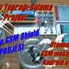 Arduino GSM Shield ve Android Uygulama ile Toprak Sulama