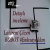 Çizgi Labirenti Çözerek Kısa Yoldan Çıkışı Bulan Robot