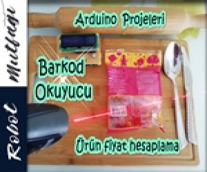 Arduino Barkod Okuyucu Projesi