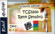 Arduino Dersleri TCS3200 Kullanımı