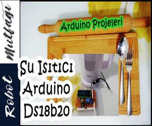 Su Isıtıcı & DS18b20 Sensörü