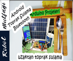 Arduino & Android Toprak Sulama