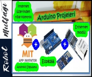 Esp8266 & Ethernet Mödülü & Android Uygulama