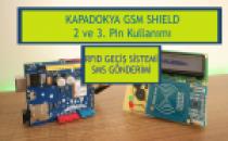 Kapadokya GSM Shield    RFID Kart Okuyucu