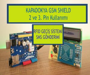 Kapadokya GSM Shield || RFID Kart Okuyucu
