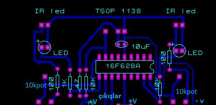 sensör devre şeması