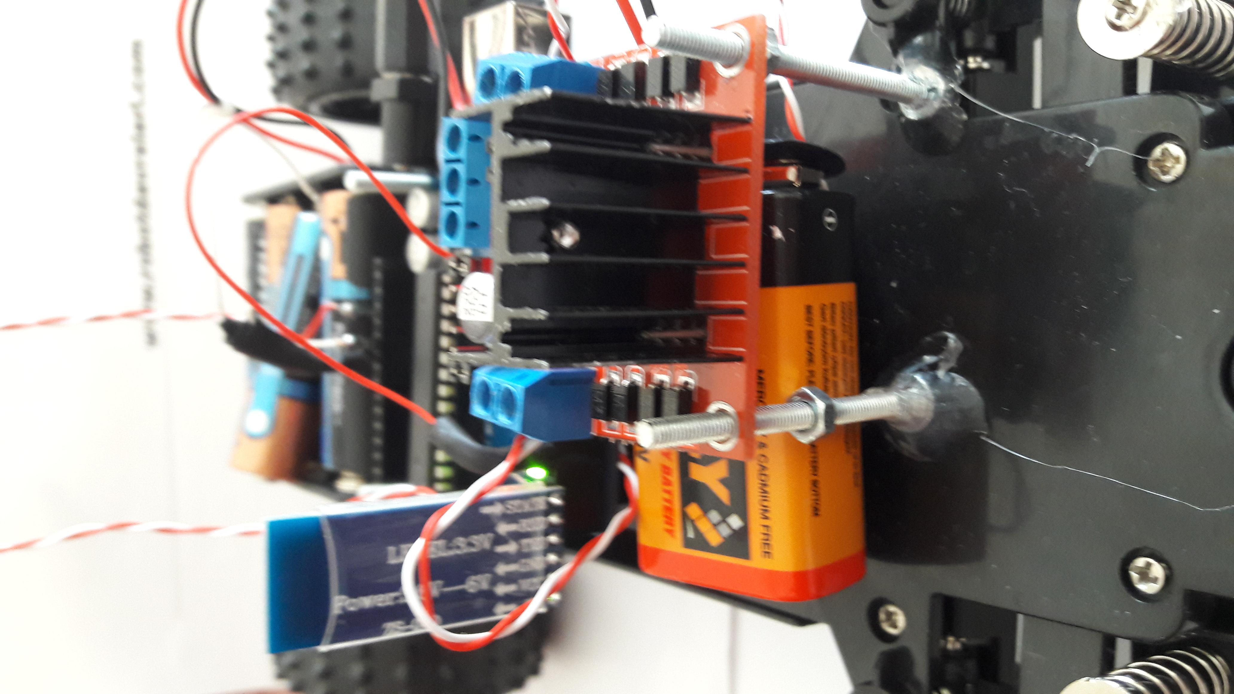 Arduino bluetooth kontrollü araba robotdevreleri
